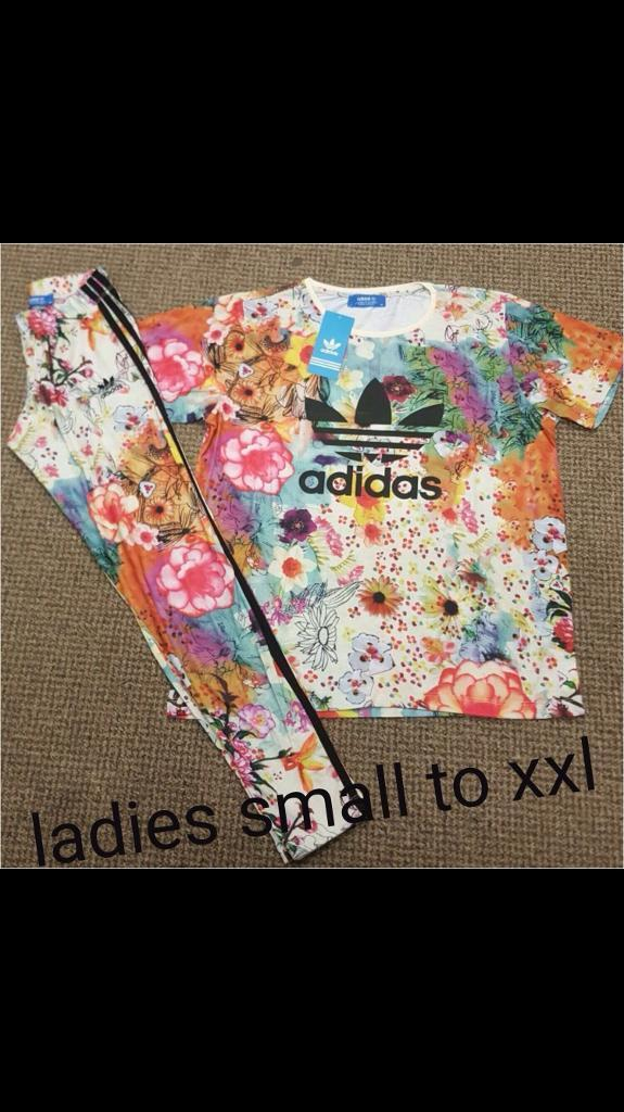 Adidas setin Billericay, EssexGumtree - Womens adidas style leggings and top set Small XXL available 2 different styles