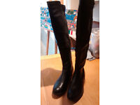 Over the knee boots (Black) -size 8