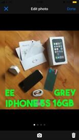 APPLE IPHONE 5S SPACE GREY 16GB FULLY WORKING