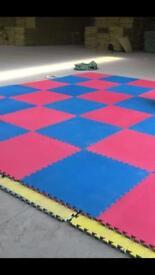 24 1m x 1m Interlocking jigsaw play mats, Eva mats, foam mats