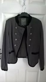 womens militery style jacket size 12
