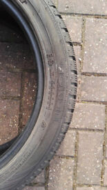 Winter tyres nearly new 225/45 R17 91H x 4