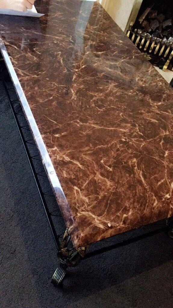 Beautiful marble table **PRICE DROP £100** (ONO)