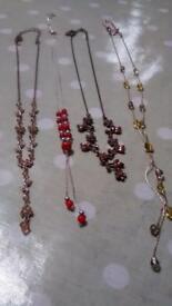 Necklaces four