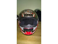 Suomy Bargy Design Motorcycle Helmet, Small, Hardly Used, VGC