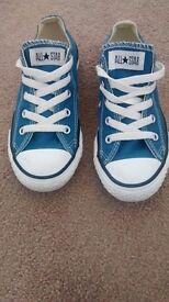 Boys blue converse All Star