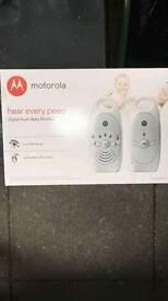Brand new Motorola baby alarms
