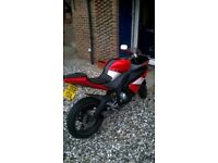 red yamaha yzfr125