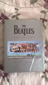 BEATLES ANTHOLOGY HARDBACK BOOK as new still in cellophane