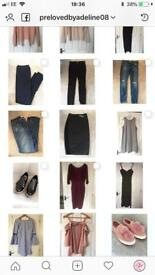 Women's shoes and clothes