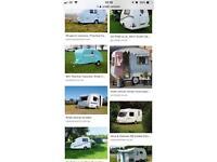 WANTED!!! Small Caravan
