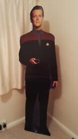 Star Trek Voyager Lt. TOM PARIS cardboard standee/cut out