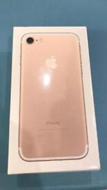 iPhone 7 - 128gb - EE -Brand new - unwanted upgrade