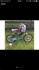 Monster high 16 inch girls bike