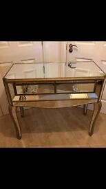 Mirrored Dressing Table (New)