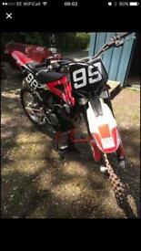 SOLD SOLD SOLD Husqvarna 250cc motorcross 4 stroke