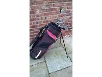 Slazenger golf clubs R/handed mens