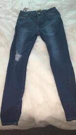 Skinny jeans size 12/14 (boohoo)