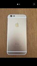 IPhone 6 back in gold/white