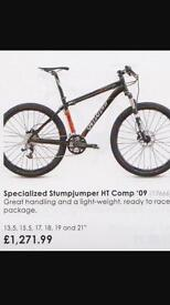Specialized Stumpjumper Size Large
