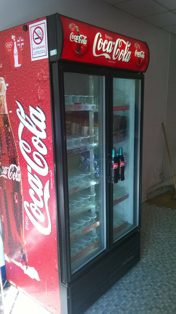 Coca Cola Fridge >> Coca Cola Fridge Commercial Shop Fridge Coke Fully Working Very Cold Quick Sale In Hull East Yorkshire Gumtree
