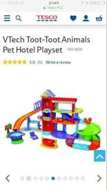 Toot toot pet hotel