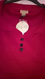 Ladies top from Lindy Bop size 14