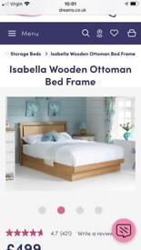 Dreams Double Ottoman Bed