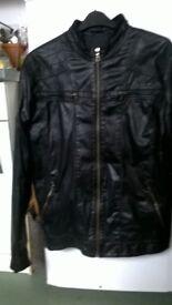 Aviatrix Black Leather Jacket