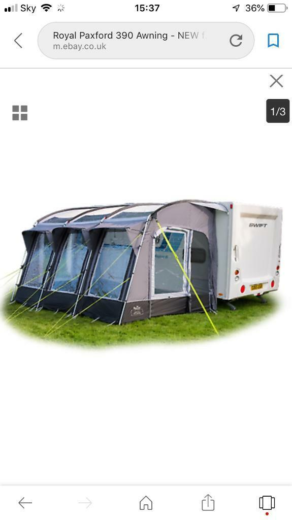 Royal Paxford 390 awning   in Cookridge, West Yorkshire ...