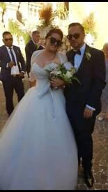 Princess wedding dress as seen on Eva in Coronation Street