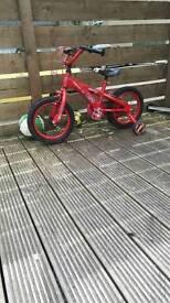 Kids lightning mqueen bike