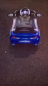 kids toy battery car 6v