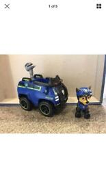 Paw patrol spy chase vehicle and Figure does have missile