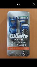 Gillette fusion proglide new