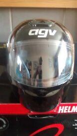AGV K-SERIES BLACK GLOSS HELMET