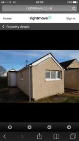 1 bedroom detached bungalow to rent