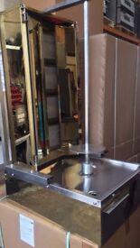 CANMAC 4 Burner Doner Kebab Machine NATURAL GAS - ( GOLD )