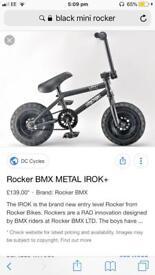 Mini rocker