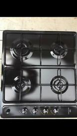 New World Black Gas Hob New and Unused