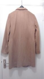 M&S Women's Camel Coat - good condition, size 12