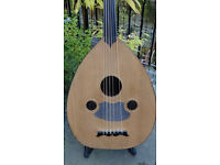 SUPERB ELECTRO-ACOUSTIC TURKISH OUD BAGGS ACTIVE IBEAM