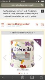 Emma bridgewater wallflower utensils