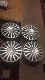Ford Mondeo ST alloy wheels