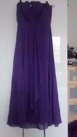 Purple prom or bridesmaid dress