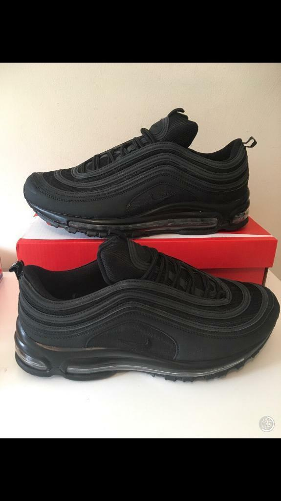 new product fd3d2 3ca77 Nike Air Max 97s all Black trainers new in box | in Kirkby-in-Ashfield,  Nottinghamshire | Gumtree