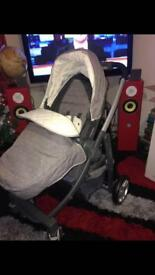 Pushchair and car seat set