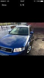 Audi A4 1.8 turbo 6 speed Quattro