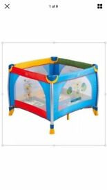 Rare Baby/Toddler Kiddi Couture Jungle Pals Playpen - Limited Edition