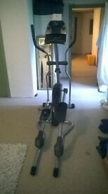 Horizon Andes 507 Gym Cross Trainer, Needs New Power Supply, But Can Be Used Without Power